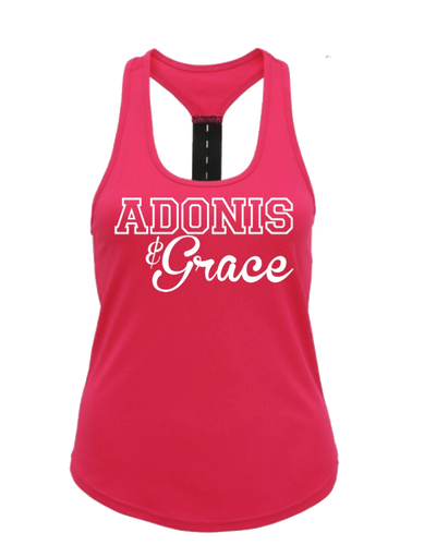 Adonis & Grace Training Vest Graphic Logo - BrandClearance