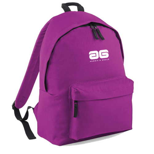 Adonis & Grace Ladies Original Fashion Backpack Purple