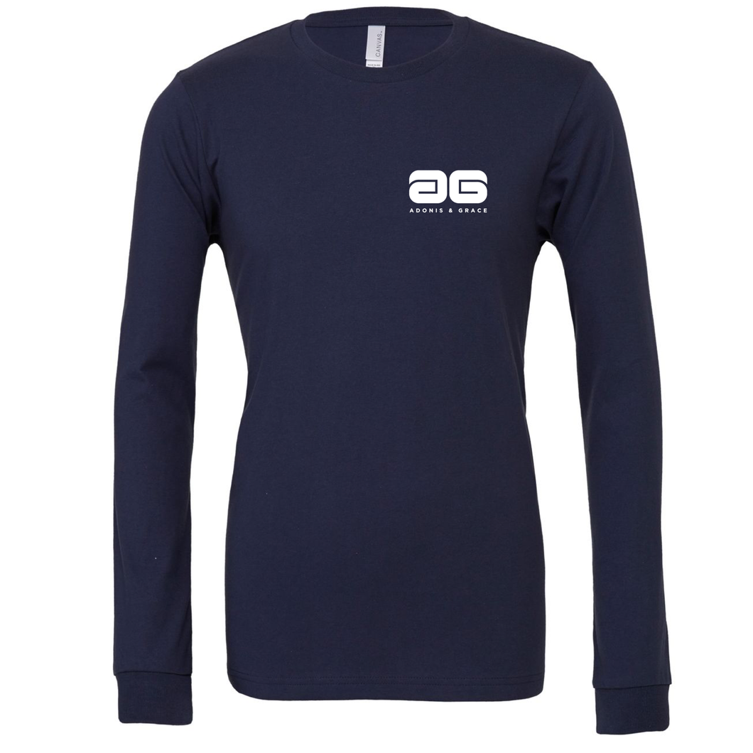 Adonis & Grace Summer Long Sleeve Jersey Navy