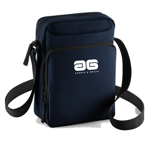 Adonis & Grace Across Body Carry Bag Navy