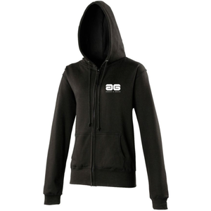 Adonis & Grace Womens Full Zip Hoody Black