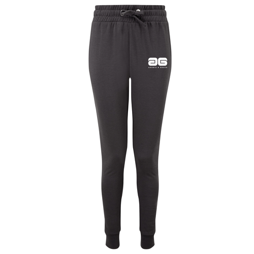 Adonis & Grace Fitted Slim Joggers Black
