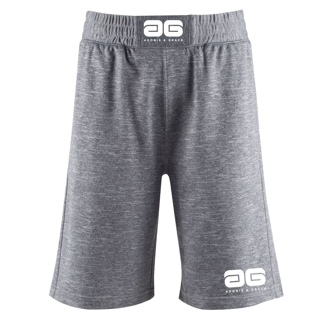 Adonis & Grace Combat Crossfit Gym Shorts Grey