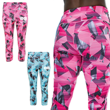 Load image into Gallery viewer, Adonis & Grace Womens Performance Capri Tight 3/4 Leggings Pink