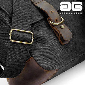 Adonis & Grace Heritage Waxed Canvas Bag