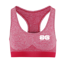 Load image into Gallery viewer, Adonis & Grace Multi Fit 3D Seamless Sports Bra Burgandy