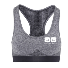Load image into Gallery viewer, Adonis & Grace Multi Fit 3D Seamless Sports Bra Charcoal