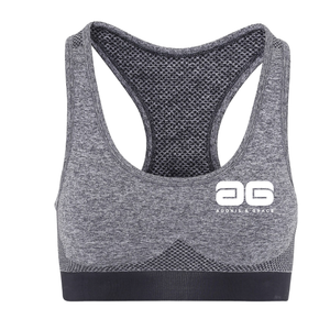 Adonis & Grace Multi Fit 3D Seamless Sports Bra Charcoal