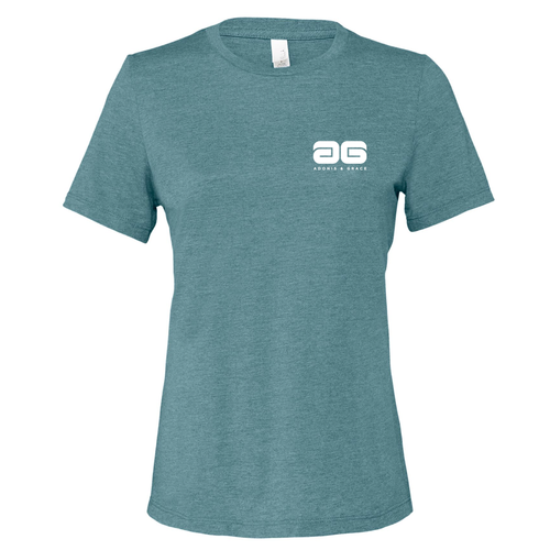 Adonis & Grace Womens Relaxed Summer T-Shirt Teal