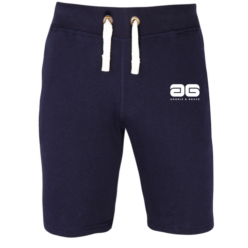 Adonis & Grace Original Campus Shorts Navy
