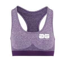 Load image into Gallery viewer, Adonis & Grace Multi Fit 3D Seamless Sports Bra Purple