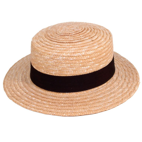 Adonis & Grace Unisex Boater Straw Summer Hat