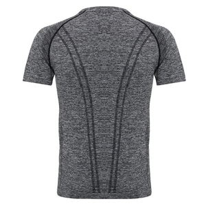 Adonis & Grace Seamless 3D Multi Fit Short Sleeve T-Shirt Grey