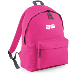 Adonis & Grace Ladies Original Fashion Backpack Fuschia