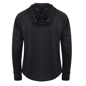 Adonis & Grace Reflective Gym Hoodie Black