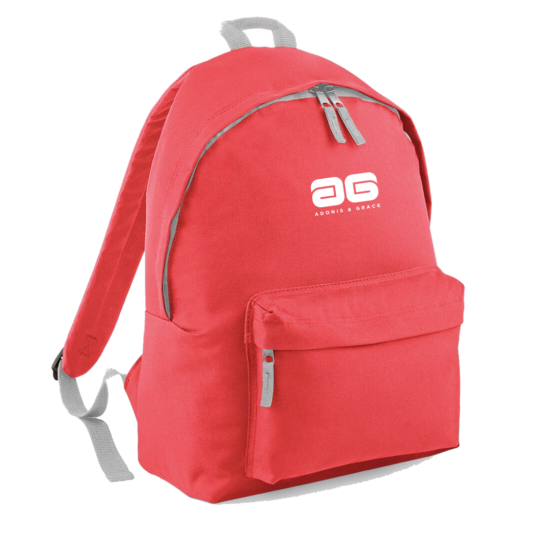 Adonis & Grace Ladies Original Fashion Backpack Coral