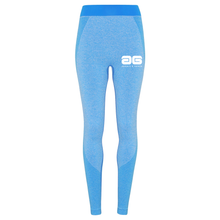Load image into Gallery viewer, Adonis & Grace Seamless 3D Gym Leggings Blue