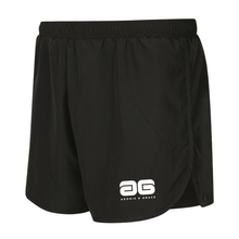 Load image into Gallery viewer, Adonis & Grace Mens Active Gym Shorts Black
