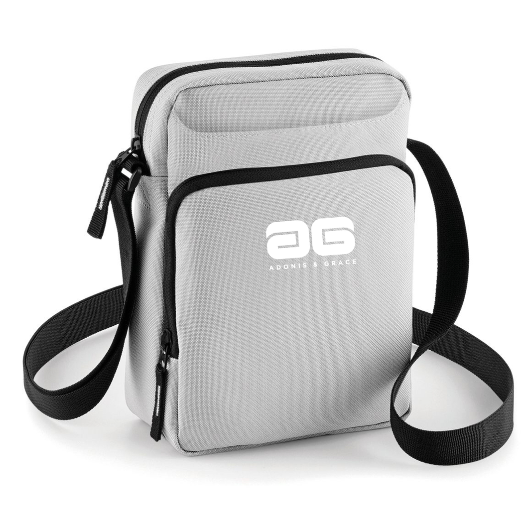 Adonis & Grace Across Body Carry Bag Grey