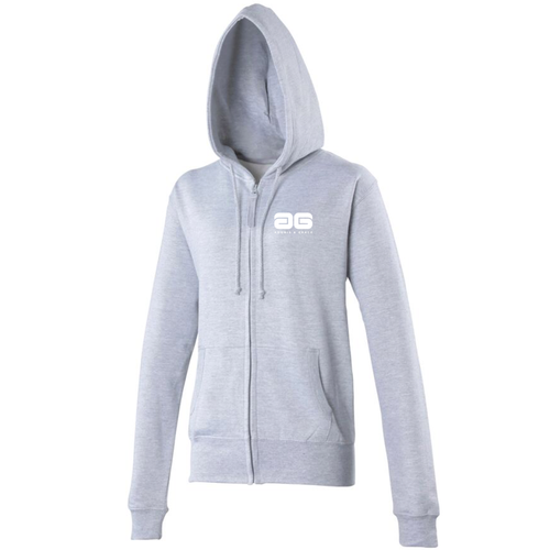 Adonis & Grace Womens Full Zip Hoody Grey