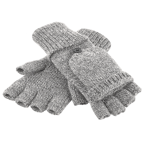 Adonis & Grace Fliptop Winter Gloves Grey
