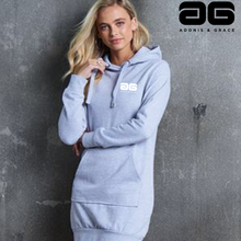 Load image into Gallery viewer, Adonis & Grace Relaxed Hoodie Dress Grey