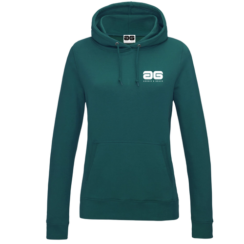 Adonis & Grace Original Girlie College Hoody Jade