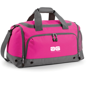 Adonis & Grace Gym Duffel Travel Holdall Bag Fuschia
