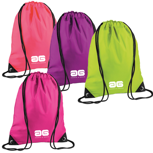 Adonis & Grace Premium Ladies Gymsac Event Bag (4 Colours)