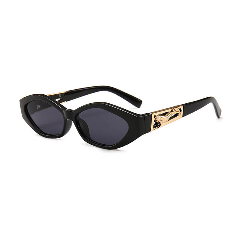 Chloe Shades in Jet Black - Violent Tinsel