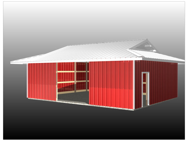 Dutch Hip Barn