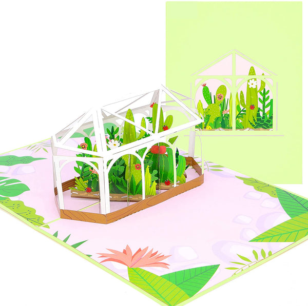 Greenhouse Poplife Lovepop pop up mother's day card