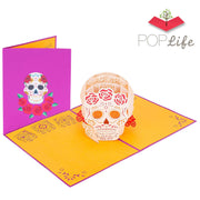 PopLife Dia de los Muertos Pop Up Card