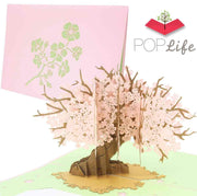 PopLife Cherry Blossom Pop Up Card
