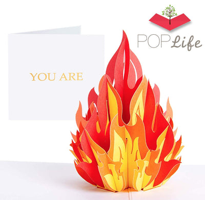 PopLife You're FIRE Pop Up Card