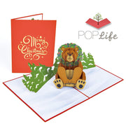Holiday Bear Pop Up Card