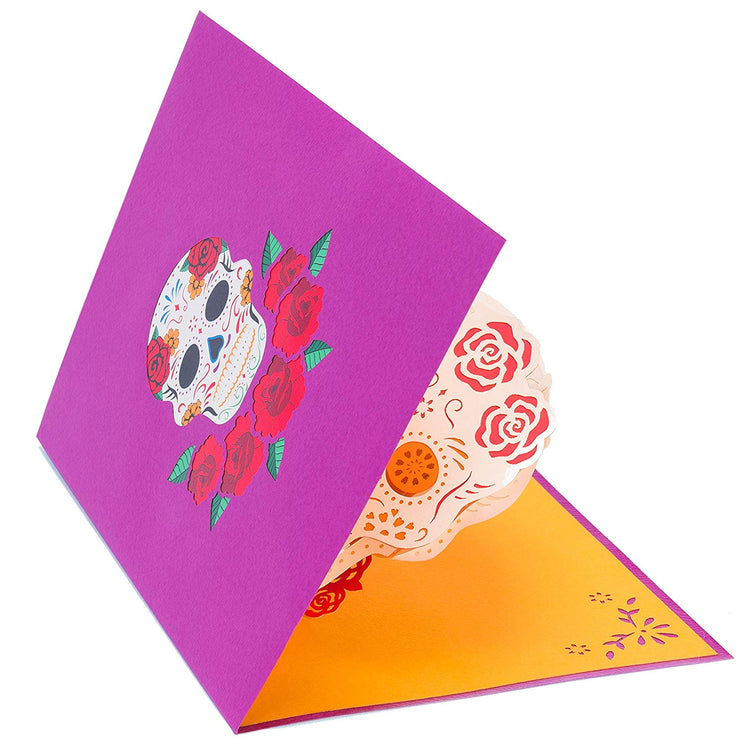 Dia de los Muertos Pop Up Card