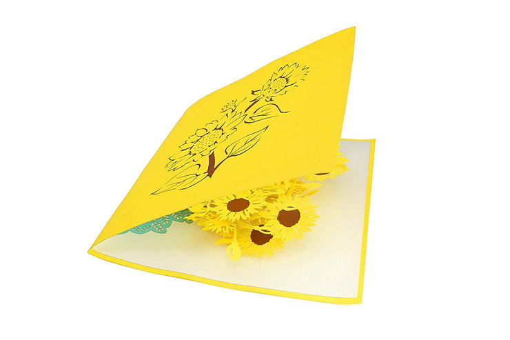 Sunflower Pop Up Card