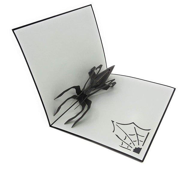 Spider Spooky Pop Up Card