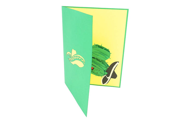 Cactus Sombrero Pop Up Card