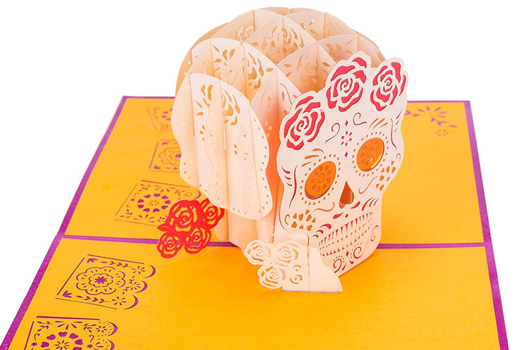 PopLife Pop-Up Card for Day of the Dead