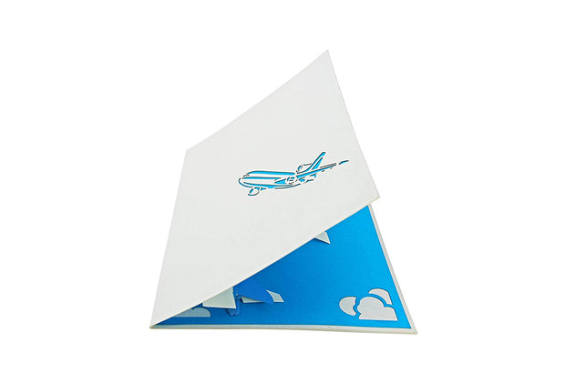 Jet Airplane Pop Up Card