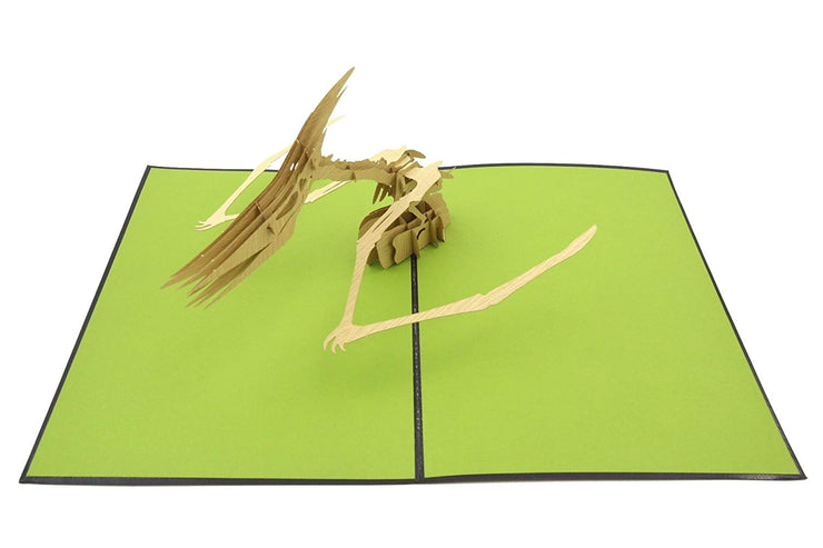 Dinosaur Pterodactyl Pop Up Card
