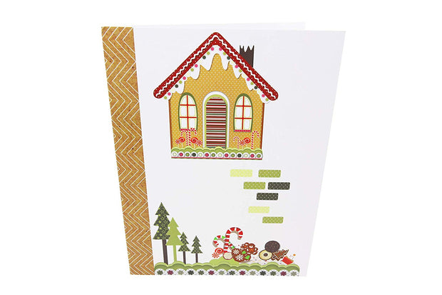 Ginger Bread House Pop Up Holiday Card