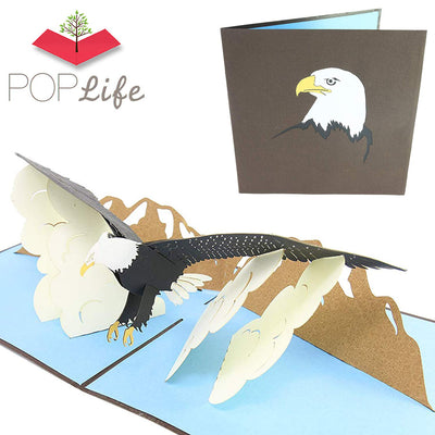 PopLife Eagle Bird Pop Up Card