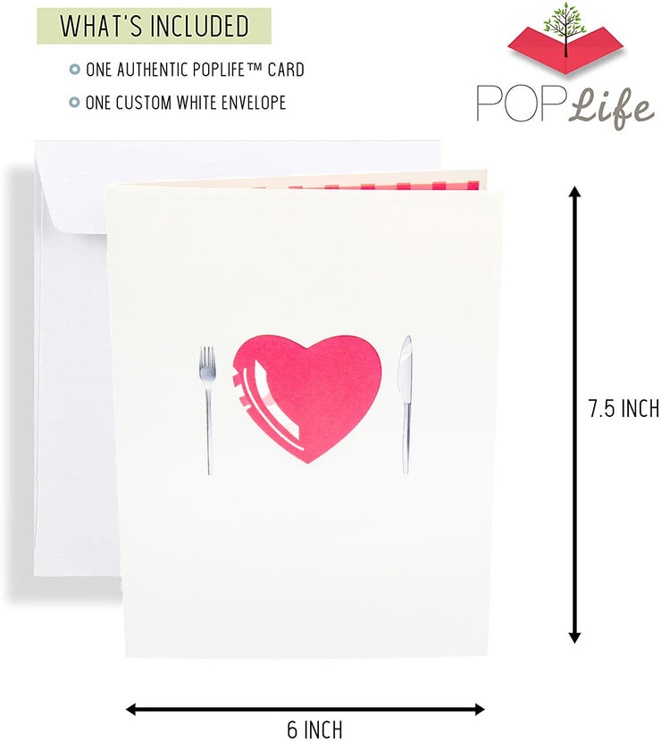 Romantic Date for Two Pop Up Card