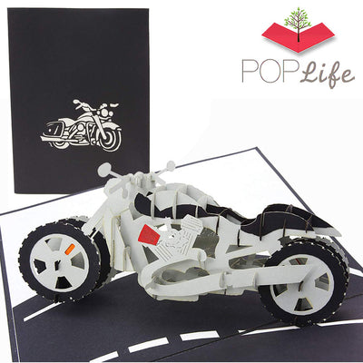 Motorcycle Pop up Card