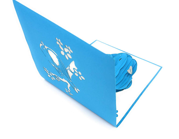 Bluebird of Happiness Pop up Card