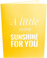 Sunflower Sunshine Pop Up Card