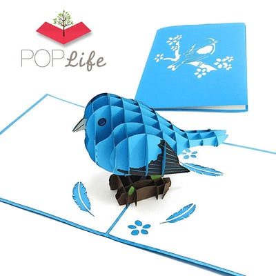 PopLife Bluebird of Happiness Pop up Card